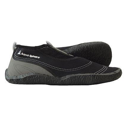 AQUA SPHERE – Herren Beachwalker – Schwarz Schuhe in Übergrößen, Größe:48/49